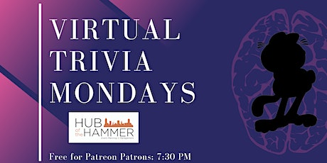 Virtual Trivia Mondays with Hub of the Hammer tickets