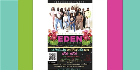 The Garden of Eden Fashion Show tickets