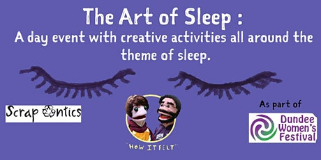The art of sleep : Event with creative activities with the theme of sleep tickets