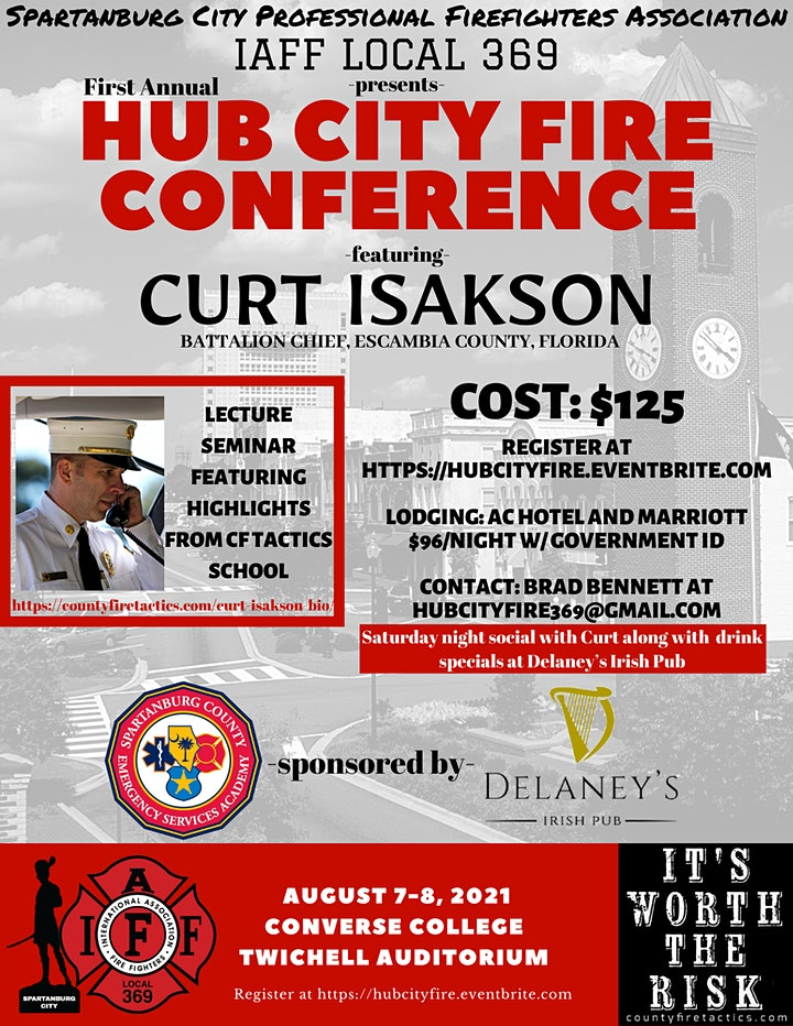 Hub City Fire Conference image