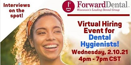 Virtual Hiring Event for Dental Hygienists tickets