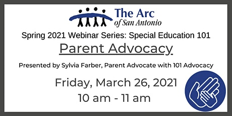 Special Education 101: Parent Advocacy tickets