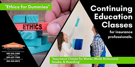 December 10th Continuing Education Classes - Hosted in Pekin tickets