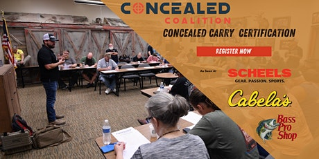 Concealed Carry Permit Certification boletos
