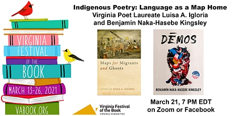 Indigenous Poetry: Language as a Map Home tickets