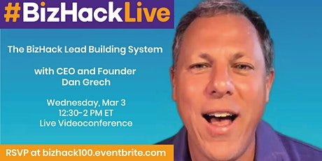 The BizHack Lead Building System tickets