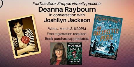 Deanna Raybourn in conversation with Joshilyn Jackson Virtual tickets