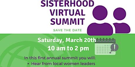 1st Annual Sisterhood Summit tickets