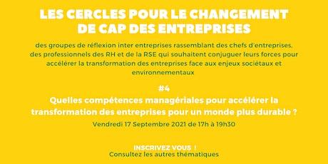 Cercle pour le Changement de Cap des Entreprises - Cercle 4 billets