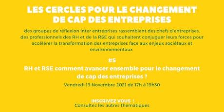 Cercle pour le Changement de Cap des Entreprises - Cercle 5 billets