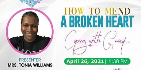 How To Mend  A Broken Heart  - Coping With Grief tickets