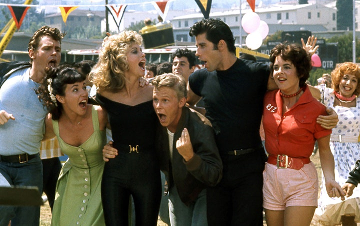Starlite Drive In Movies -GREASE image