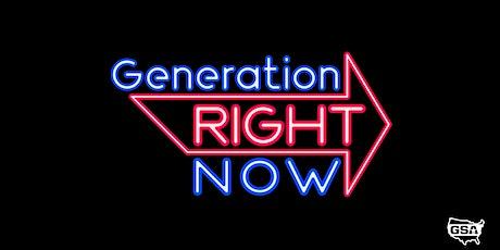 Gen Right Now tickets