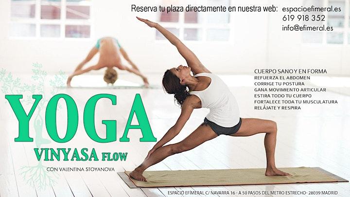 Clases de yoga vinyasa en Espacio Efimeral image