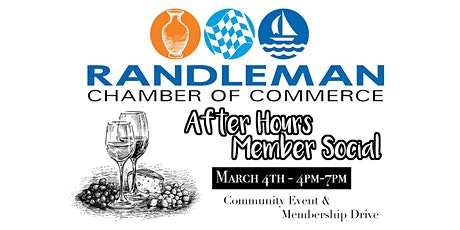 Randleman Chamber - After Hours Members Social tickets