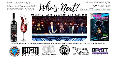 Who's Next? Operation ARTS Competition Finale 2021 tickets