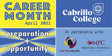 Cabrillo College Career Fair: Entrepreneur & Business/Creative Arts tickets