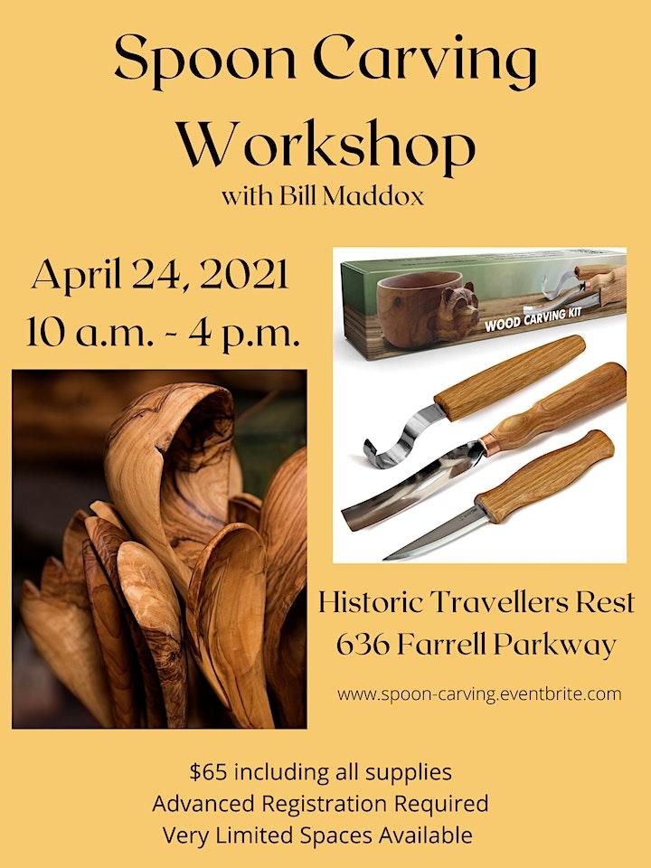 Spoon Carving Workshop for Beginners image