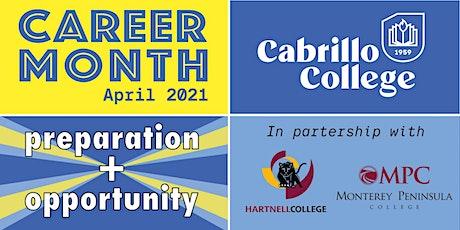 Cabrillo College Career Fair: STEM tickets