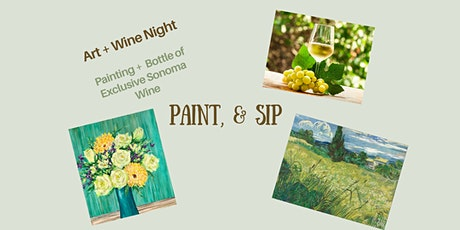 Paint & Sip - Celebrate Spring tickets