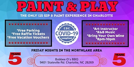 Friday: Paint & Play (Northlake Area) tickets