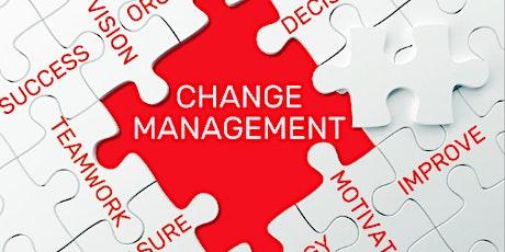 4 Weekends Only Change Management Training course in Zurich tickets
