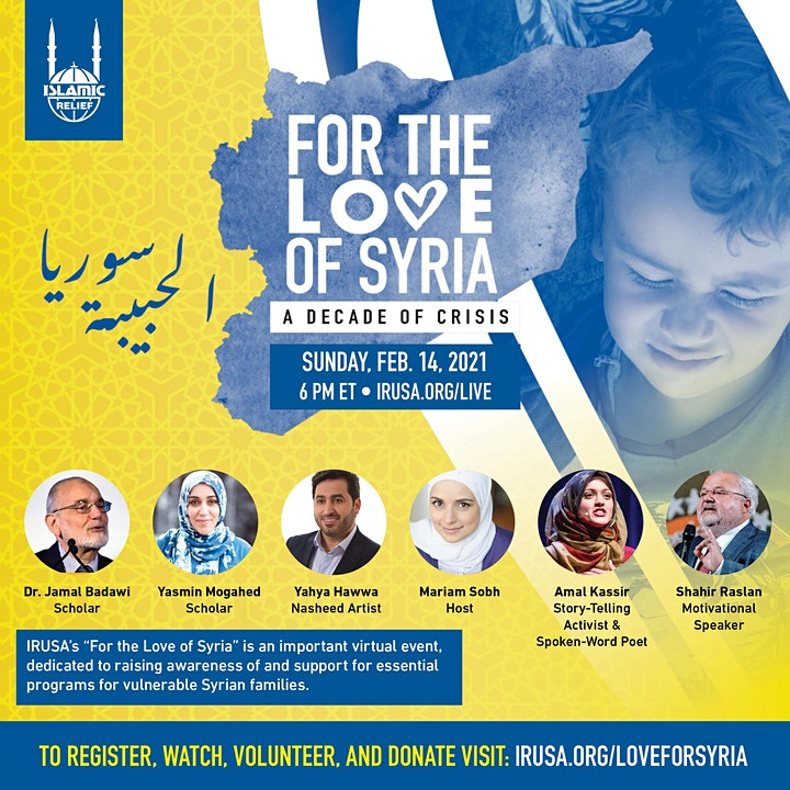 Islamic Relief USA:  For the Love of Syria image