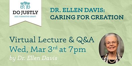 Dr. Ellen Davis: Caring for Creation tickets