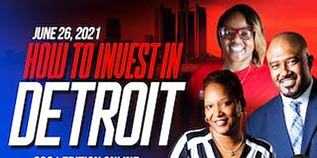 How to invest in Detroit  - 2021 Edition Online Webinar and Mastermind tickets