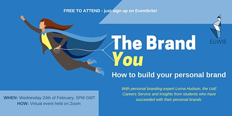 The Brand 'You': How to build your personal brand tickets