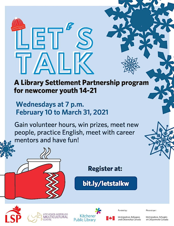 Let's Talk Program for Newcomer Youth image