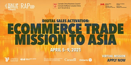 eCommerce Trade Mission to Asia tickets