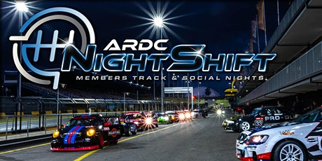 NIGHTSHIFT // ARDC Members Track and Social Nights tickets