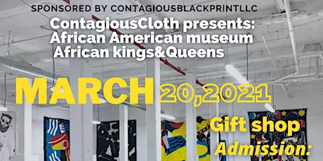 ContagiousCloth African American museum tickets