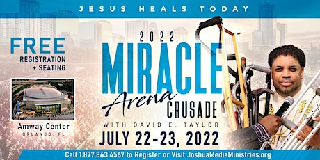 Miracles in America Arena Crusade with David E. Taylor tickets