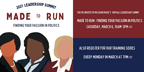 MADE to Run Leadership Summit tickets