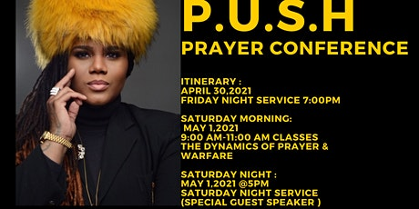 P.U.S.H.  Prayer Conference tickets