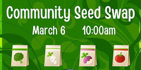 Community Seed Swap tickets