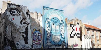 PARIS BEAUBOURG - BALADE STREET-ART ET SPACE INVAD