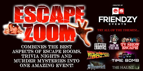 Escape Zoom - An Online Escape Room & Trivia Event Combo tickets
