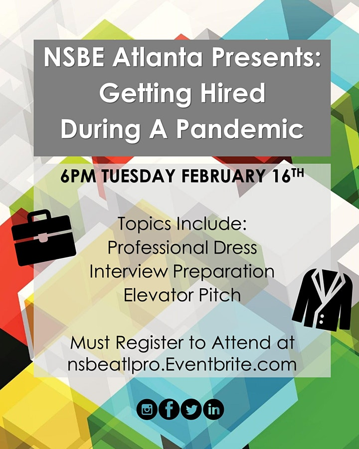 Professional Development Workshop: Getting Hired During A Pandemic image