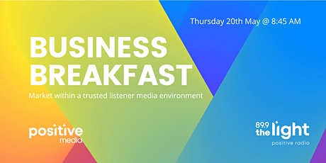 VIRTUAL EVENT: PositiveMedia Business Breakfast tickets