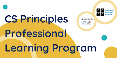 CS Principles Professional Learning Program tickets