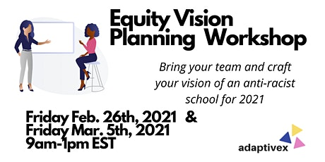 February Equity Vision Planning for your School tickets