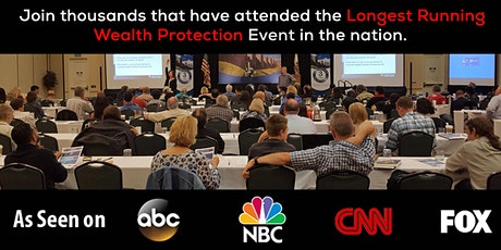 April LIVESTREAM 3-Day Asset Protection & Wealth Creation Summit Tickets