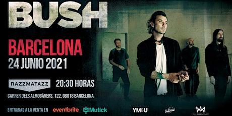 BUSH en Concierto Barcelona tickets