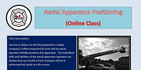 Aerial Apparatus Positioning Online Class tickets