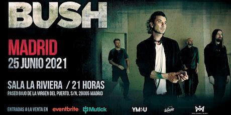 BUSH en Concierto Madrid entradas