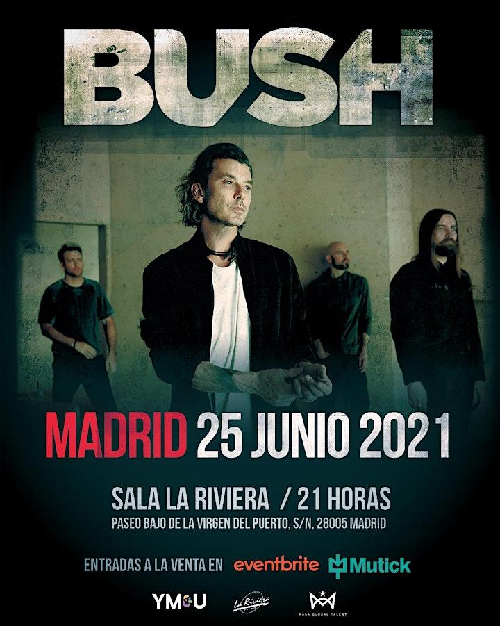 Imagen de BUSH en Concierto Madrid