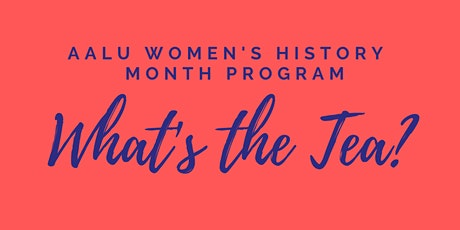 AALU Women's History Program: A Cupcakes & Conversation Presentation tickets